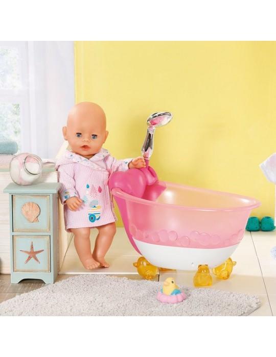 Baby Born interaktywna wanienka LED