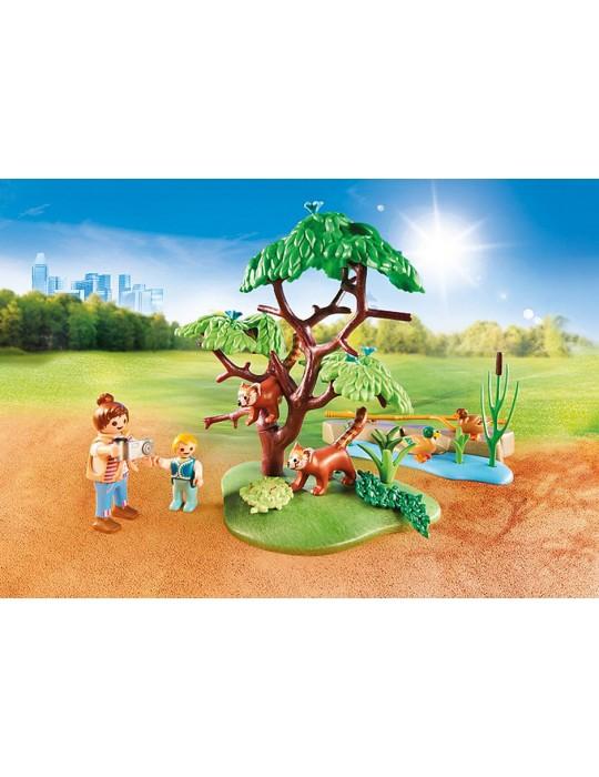 Playmobil Pandki rude na wybiegu