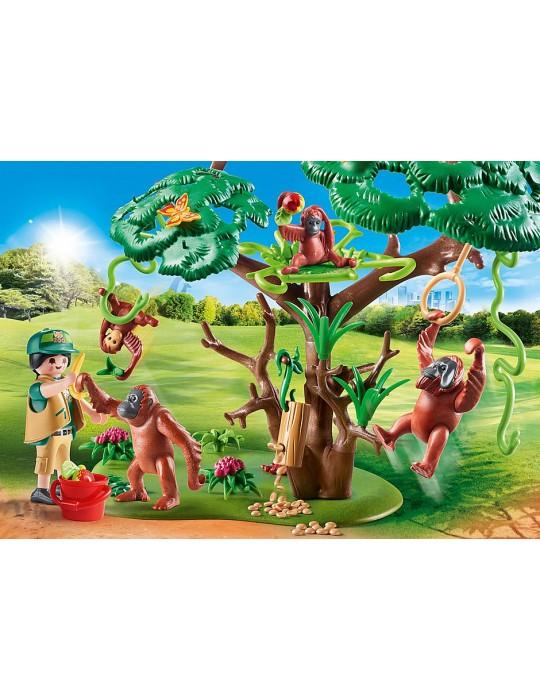 Playmobil Orangutany na drzewie