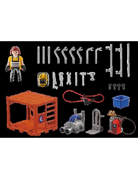 Playmobil Produkcja kontenerów