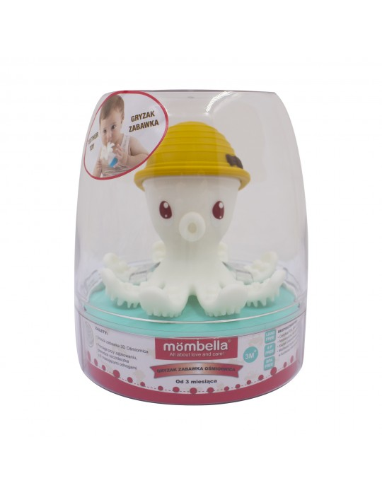 Mombella Gryzak zabawka ośmiornica Curry