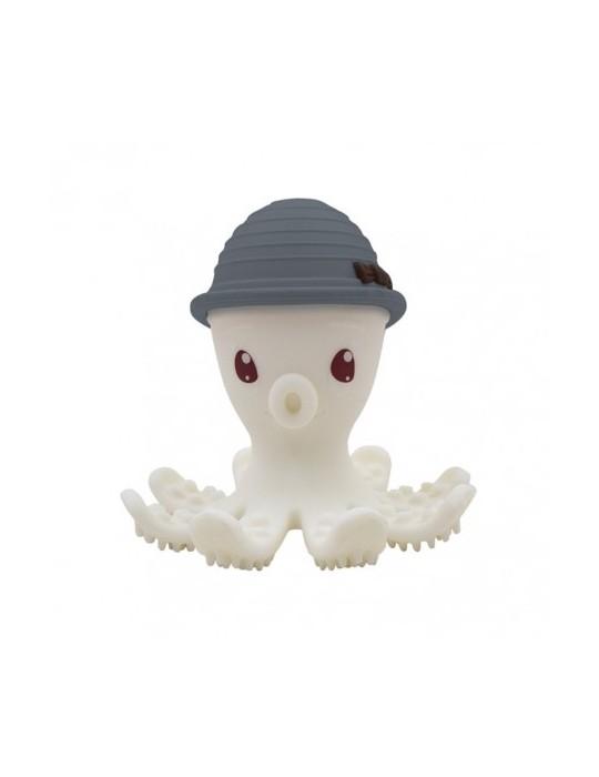 Mombella Gryzak zabawka ośmiornica Grey
