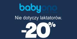 eTargi w AkpolBaby - rabat do 20% na akcesoria dla dzieci od Babyono