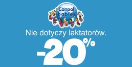 eTargi w AkpolBaby - rabat do 20% na akcesoria dla dzieci od Canpol Babies