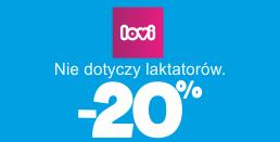 eTargi w AkpolBaby - rabat do 20% na akcesoria dla dzieci od Lovi