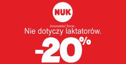 eTargi w AkpolBaby - rabat do 20% na akcesoria dla dzieci od Nuk