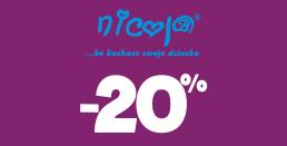 eTargi w AkpolBaby - rabat do 20% na pościel, ciuszki dla dzieci i bieliznę dla mam od Nicol